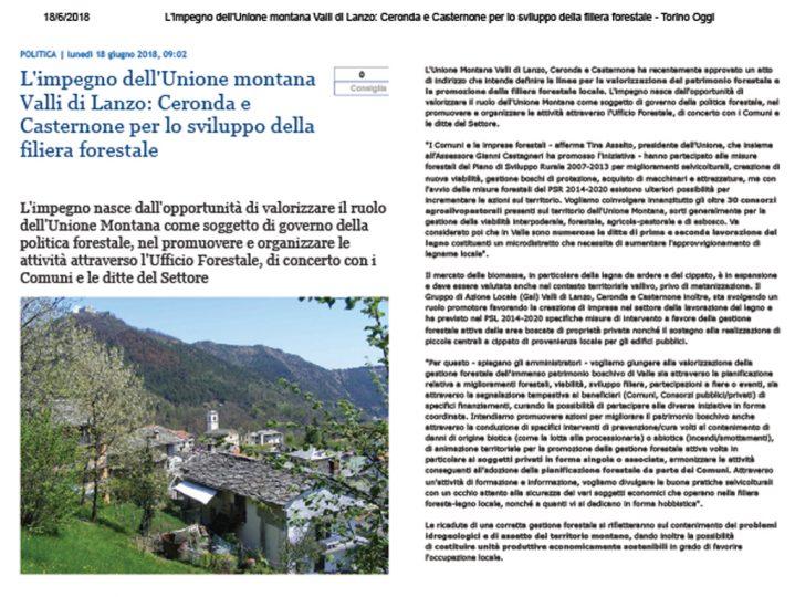 Impegno Unione Montana Valli di Lanzo