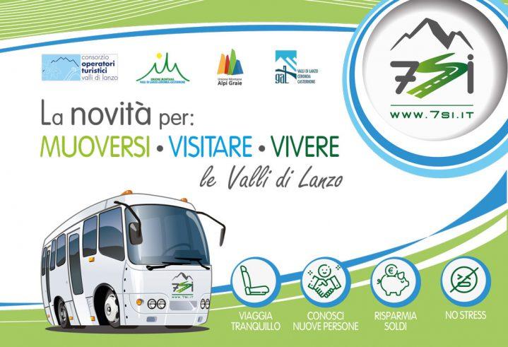 Presentazione del nuovo servizio di mobilità delle Valli di Lanzo: 7si